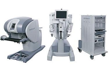 Chirurgie robotisée avec da Vinci